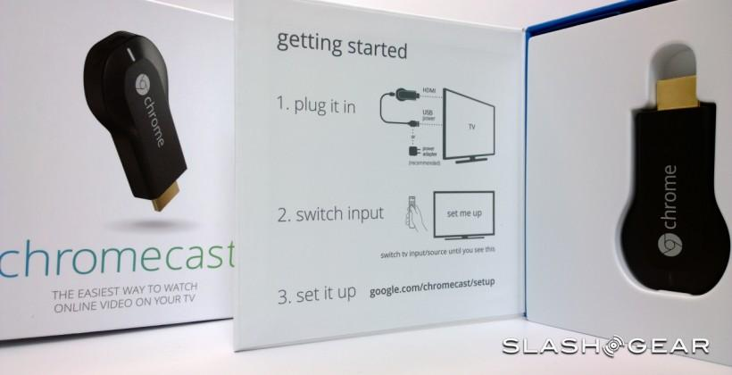 Chromecast surfaces in UK ahead of official launch