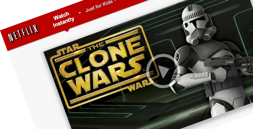 Star Wars: Clone Wars live on Netflix, all six seasons in full