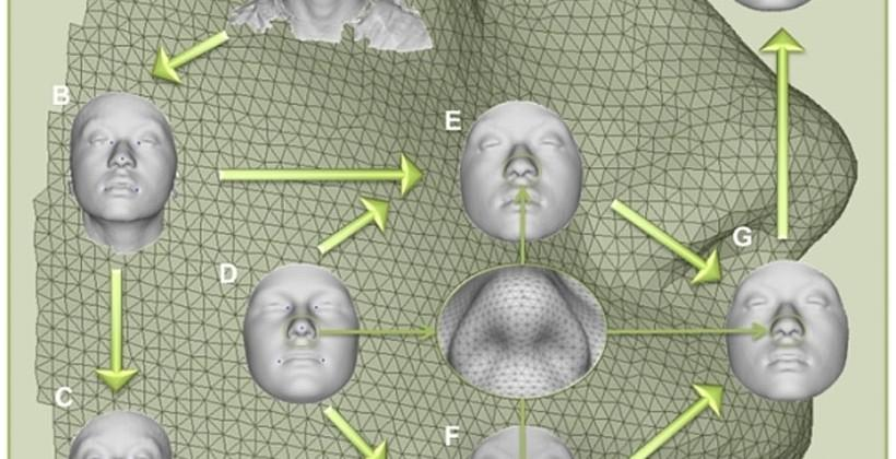 New tech creates 3D models of faces using DNA