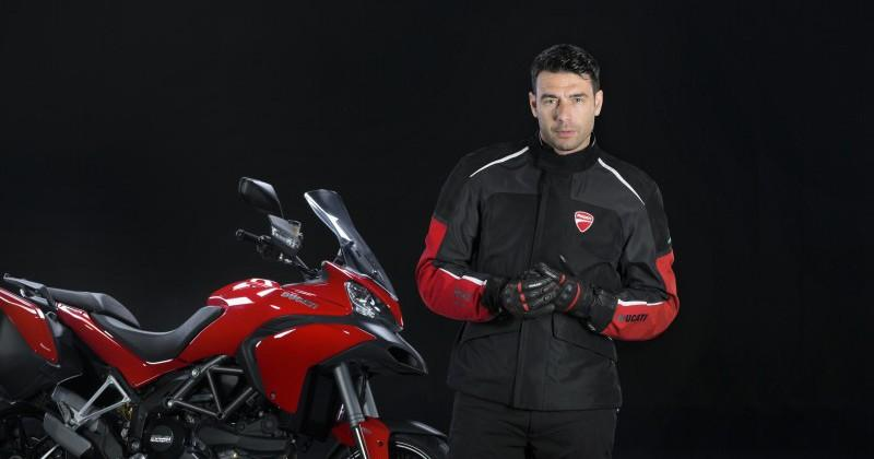 Ducati Multistrada D-Air motorcycle offers a safer ride with airbag jackets
