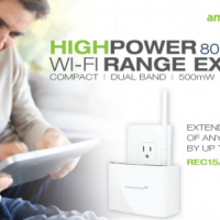 Amped Wireless REC15A wifi extender now available