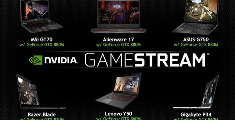 NVIDIA SHIELD's GameStream ready to pair with gaming notebooks