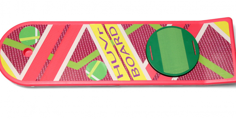 "HUVr: Back to the Future's Hoverboard gets ""real"""