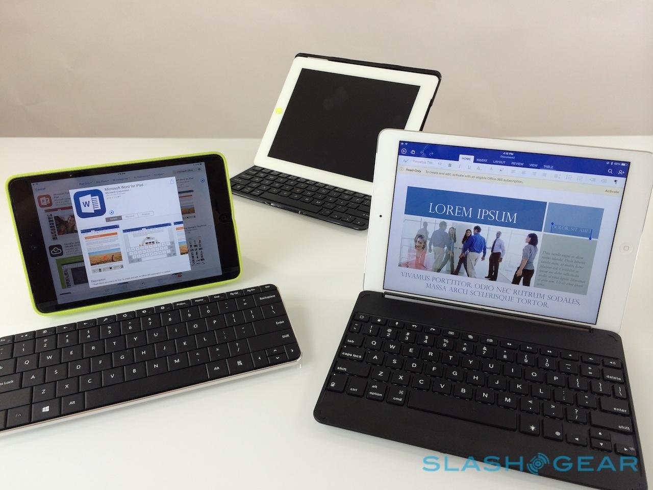 Incase Origami Workstation + Apple Bluetooth Keyboard for iPad ... | 960x1280
