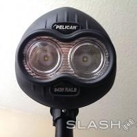 Pelican 9420 LED Worklight blasts 1000 lumens for 4 hours wirelessly