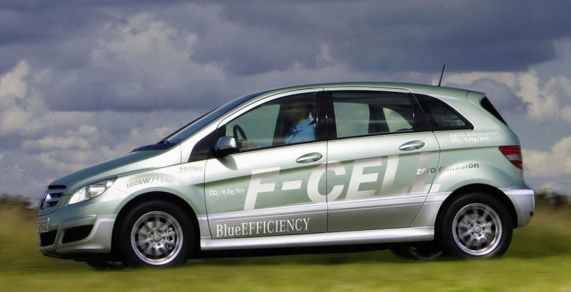 Mercedes hydrogen fuel cell car due 2017