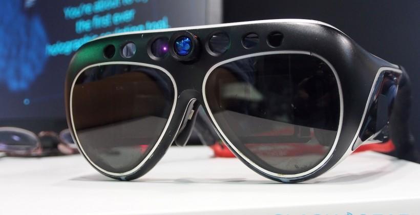 Meta Pro 3D wearable computer hands-on