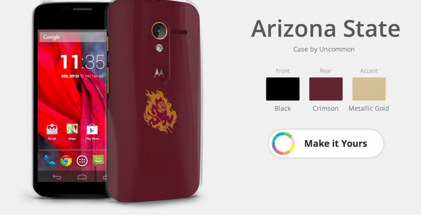 Moto X college designs bring smartphones to students