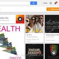 Google Play Music uploads hit browser: drag and drop