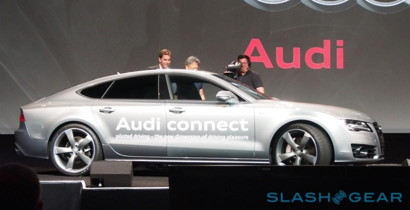 Audi self-driving car brings NVIDIA Tegra K1 front and center