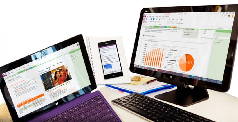OneNote drops price; gets apps for IFTTT, Livescribe, more