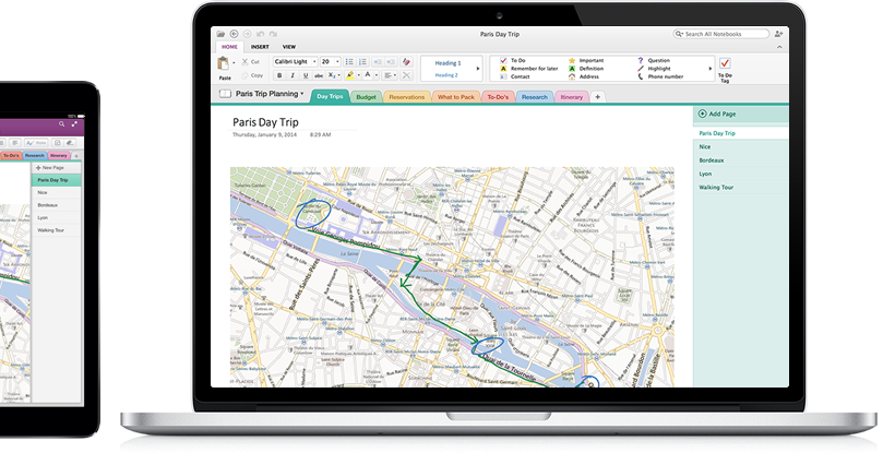 OneNote for Mac launches with new Evernote-challenging tools