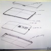 OnePlus One phone sketches hint at design