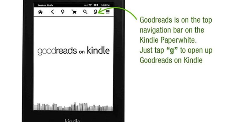 First gen Kindle Paperwhite gets software update with Goodreads integration and more