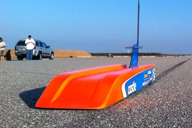 World's fastest RC car hits record 188 mph