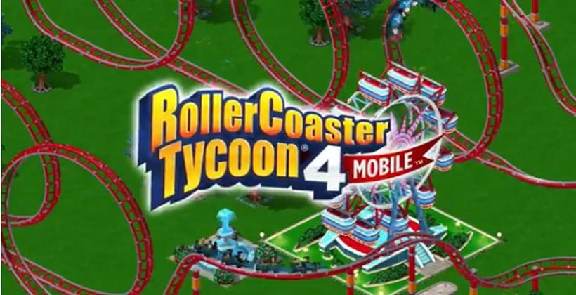 RollerCoaster Tycoon 4 Mobile heads to iOS devices