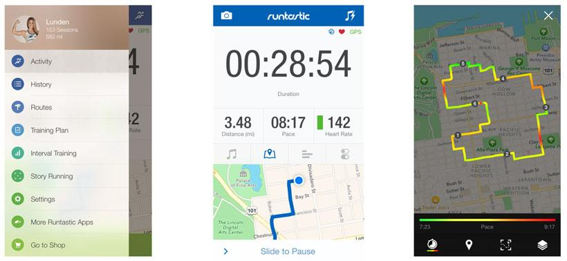 Runtastic 5.0 offers more customization and hydration recommendations