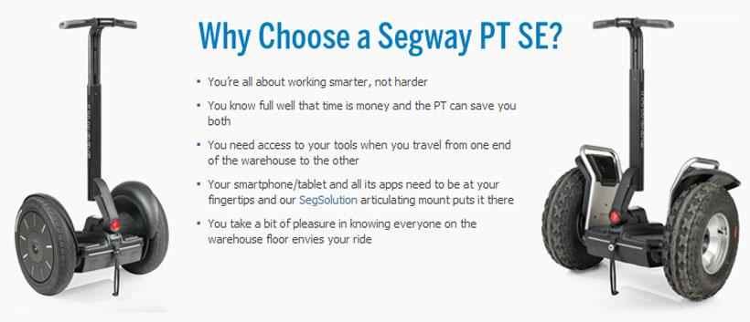 Segway SE Personal Transporters bring off-road capability