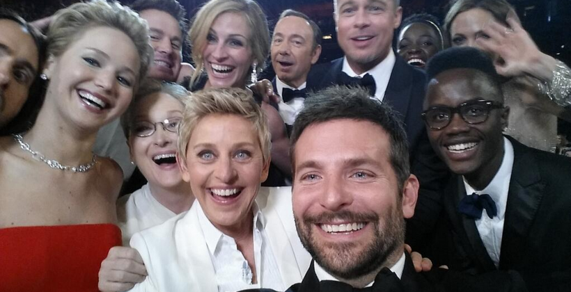 Ellen's most-retweeted Oscars selfie: Samsung made it happen