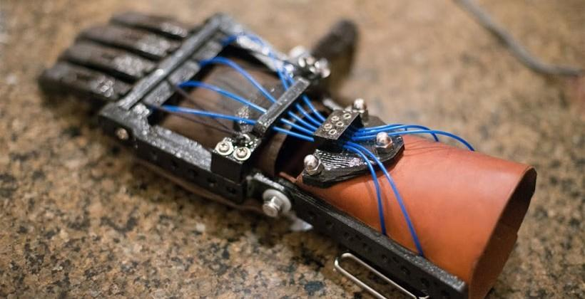 Prosthetic hand created using Solidoodle 3D printer