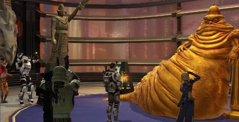 Star Wars: The Old Republic Galactic Strongholds expansion lands this summer