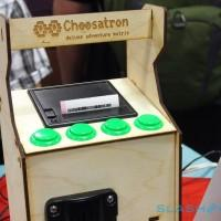 The Choosatron hands-on: DIY text-based adventure printer ahoy
