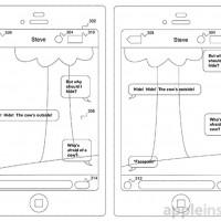Apple transparent texting patent makes texting and walking safer