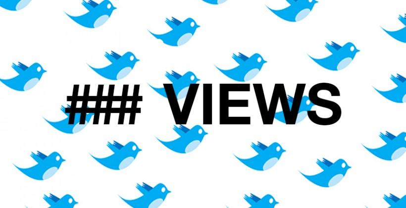"""Twitter testing """"number of views"""" stats for tweets"""