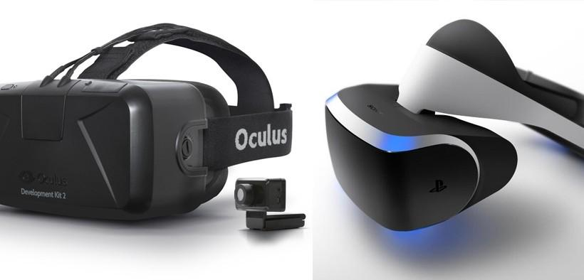 Oculus Rift DK2 vs PS4 Project Morpheus: two aims, one vision
