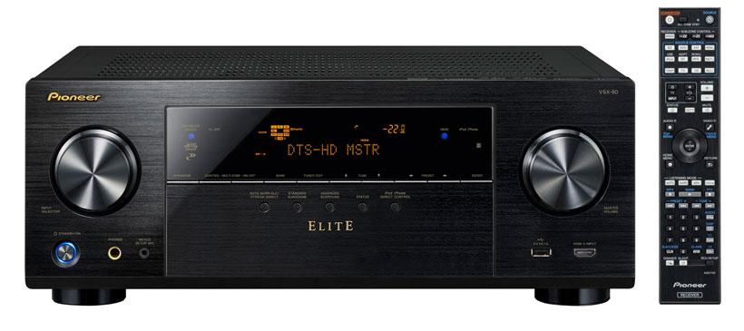 Pioneer VSX-80 home theater receiver aims at custom installers
