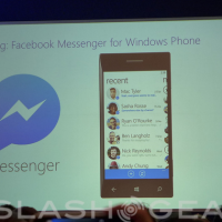 Facebook Messenger for Windows Phone 8 arrives
