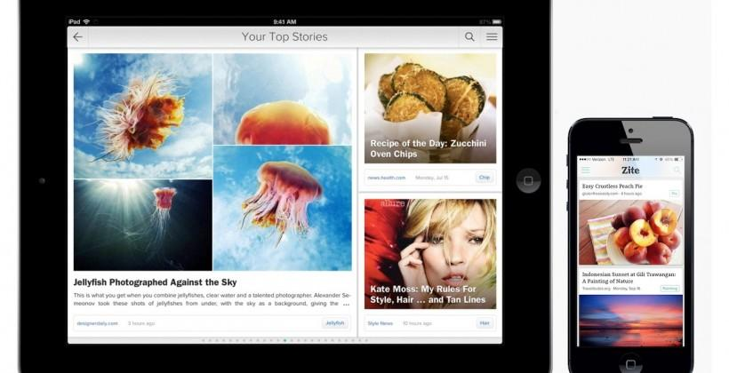 Flipboard buys Zite for a smarter newsreader