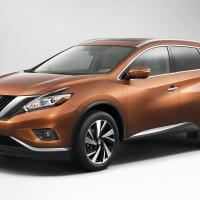 2015 Nissan Murano reveals crossover-makeover