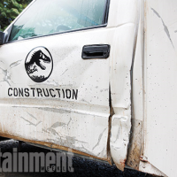 Jurassic World set pictures surface