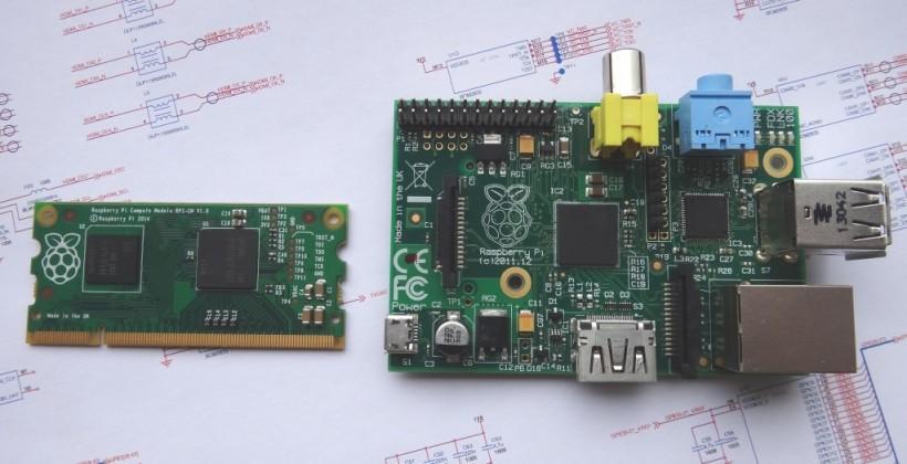 Raspberry Pi Compute Module shrinks to memory stick size