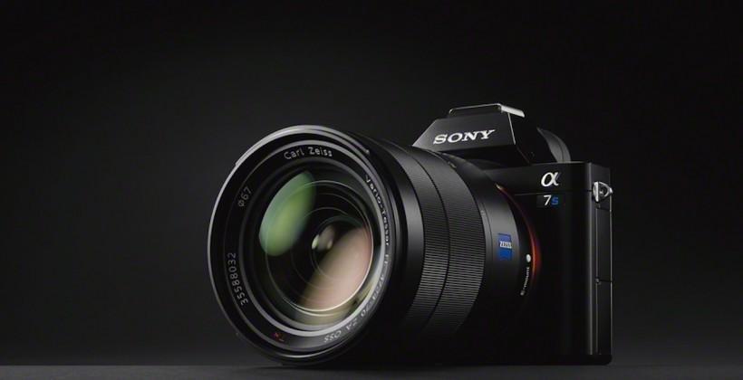 Sony A7S full-frame camera packs 4K video