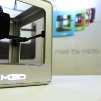 The Micro 3D printer storms Kickstarter for home use