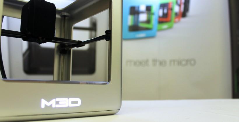 The Micro 3D printer storms Kickstarter for home use