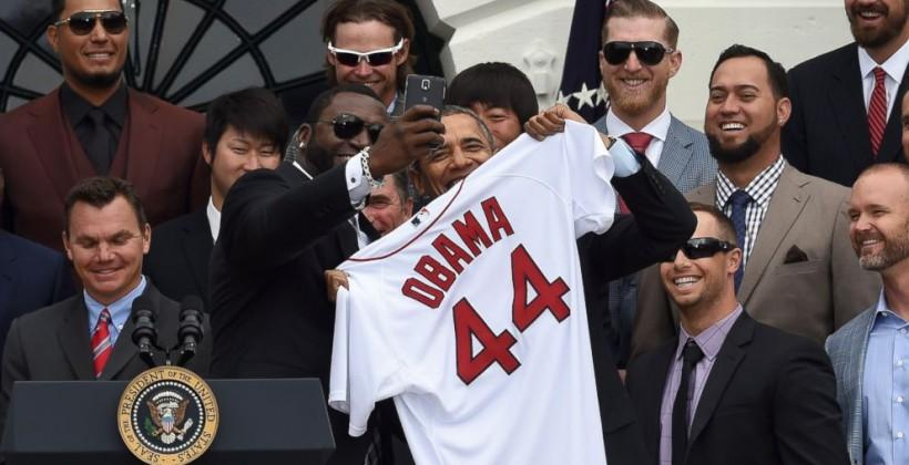 White House objects to Obama's World Series 'selfie'