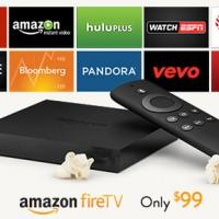 Amazon Fire TV apps include Netflix, Hulu, ESPN