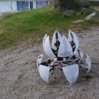 Morphing DIY robot looks like a Portal 'bot for real
