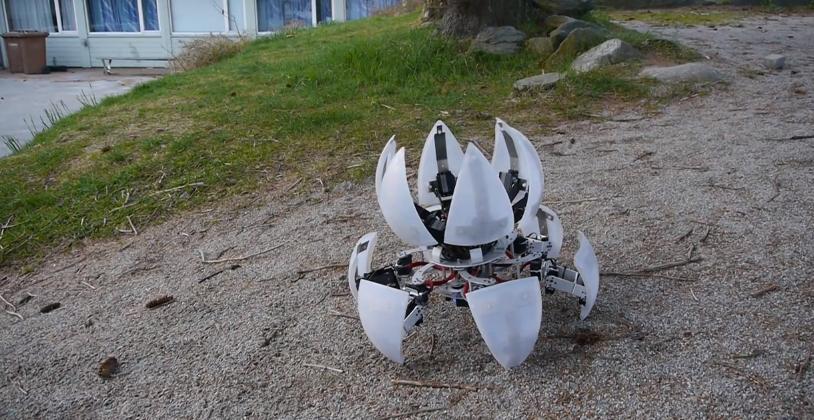 Morphing DIY robot looks like a Portal 'bot for real - SlashGear