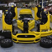 Ford celebrates Mustang's 50th with vivisection
