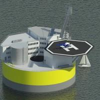 MIT floating nuclear plant eliminates tsunami risk