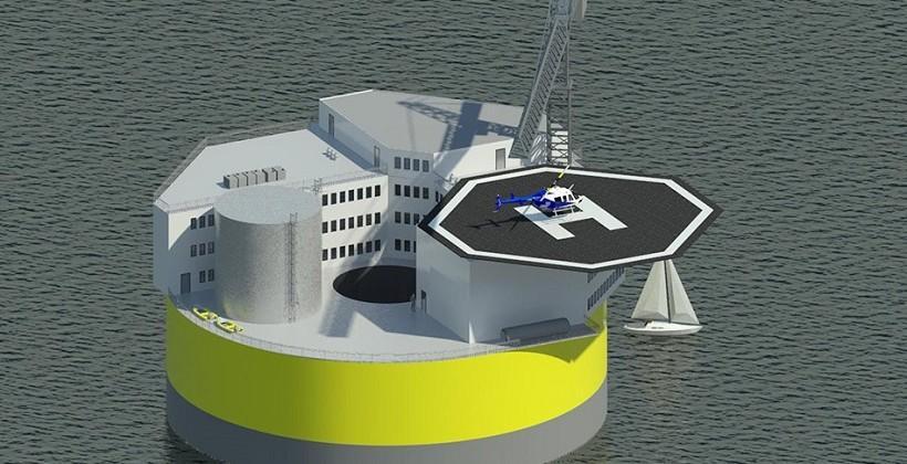 MIT floating nuclear plant eliminates tsunami risk