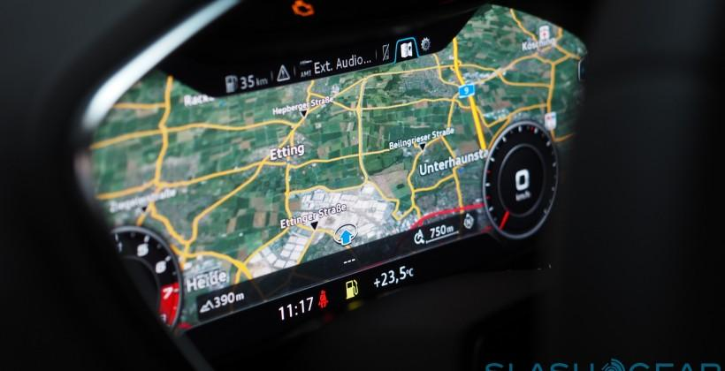 2015 Audi TT Virtual Cockpit: Exclusive Hands-on