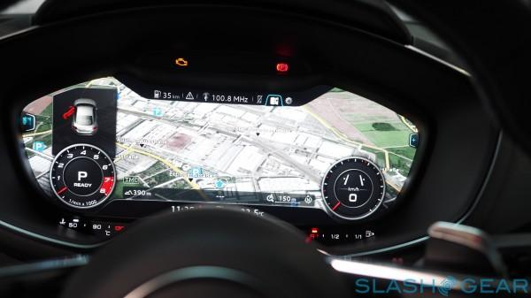Audi TT MMI - Virtual Cockpit