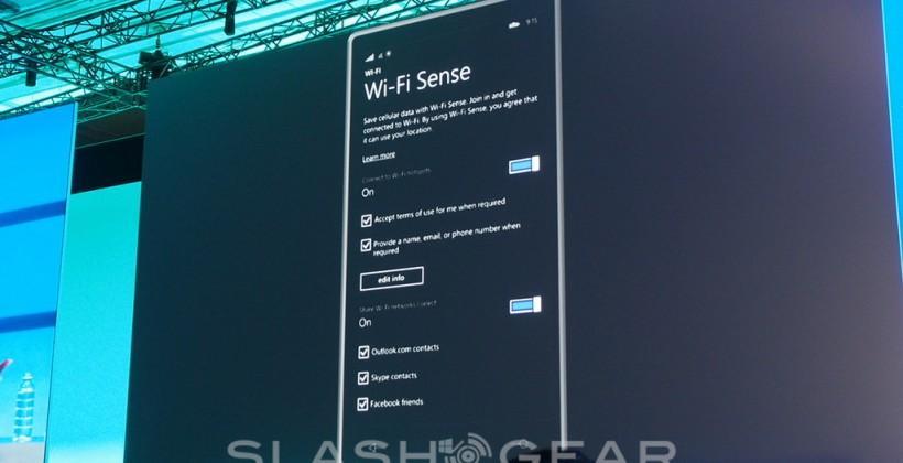 Windows Phone 8.1 Wi-Fi Sense aims to douse mobile data