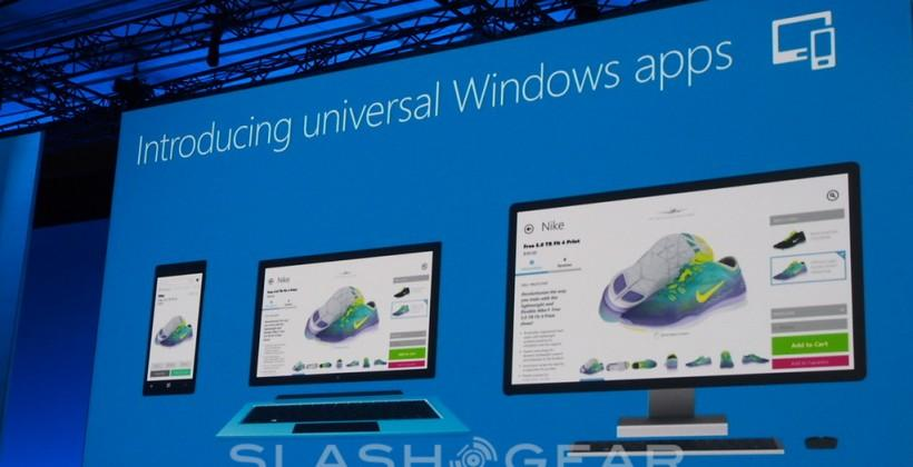 Universal Windows apps to tie Microsoft ecosystem together