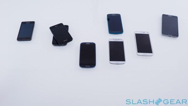 All Galaxy S phones